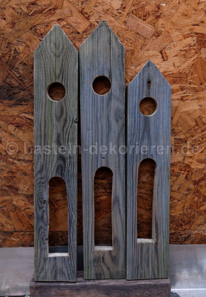 vogelhaus als gartendeko basteln und dekorieren. Black Bedroom Furniture Sets. Home Design Ideas